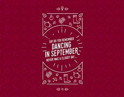 """""""Dancing in September"""" Desktop&Device Wallpaper"""