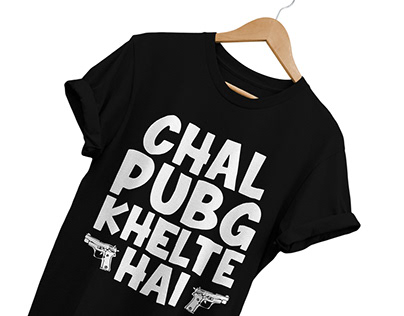 PUBG T-Shirt Banner Design
