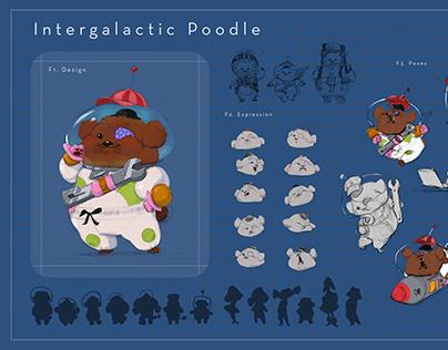 Intergalactic Space Poodle