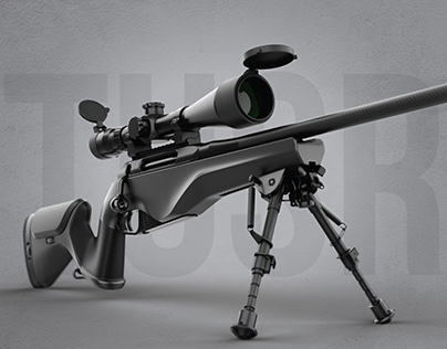 Tactical Urban Sniper Rifle