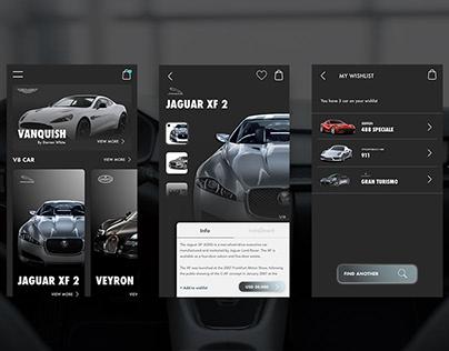 DreamCar - Premium Car Mobile App