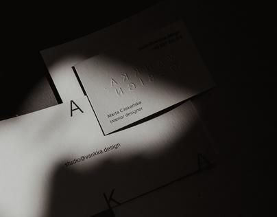 VANKKA.design branding