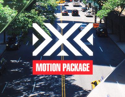 NYXL 2021 | Brand Refresh Motion Package