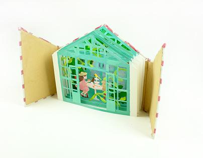 Little Greenhouse Handmade Book