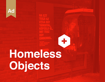 homeless objects for Red Cross