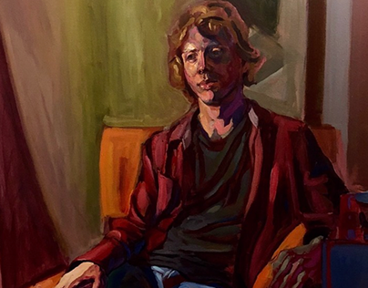 Painting of Nate