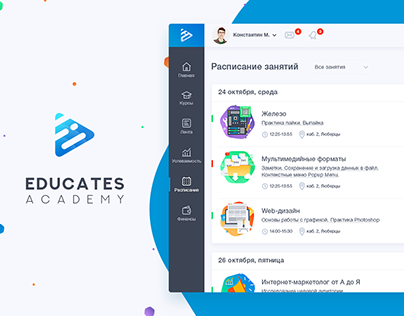 Education dashboard-concept design