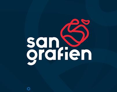 San Grafien - my personal portfolio brand design