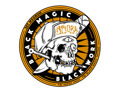 Stikers - Black Magic Tattoo