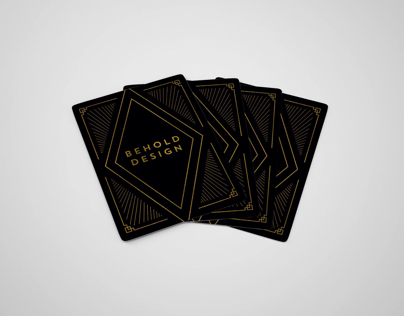 Behold Design Playing Cards