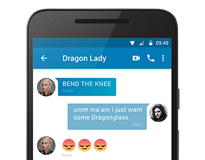Game of Thrones Chat App