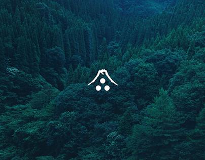 UMEGANE WOODWORKS logo, branding, JAPAN