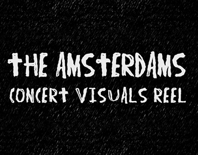 The Amsterdams concert visuals demo reel