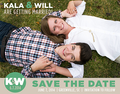 Assorted Save the Date Cards
