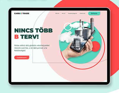 CARBOO TRADE Web UX/UI Design