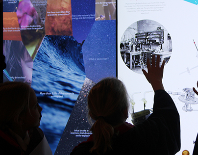 Rutherford Interactive Touch Wall