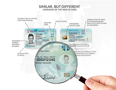 Proposal Design for New Serbian ID Card