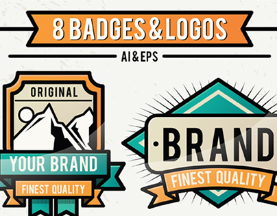 Retro Vintage Badges & Logo