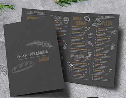 Borys - menu