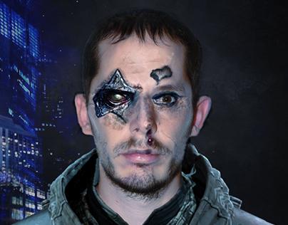 Cyberpunk Photomanipulation