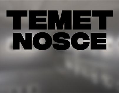 Temet Nosce