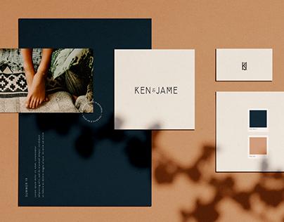 Ken & Jame Branding