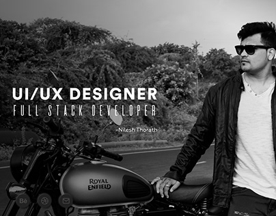 Portfolio Website UI UX