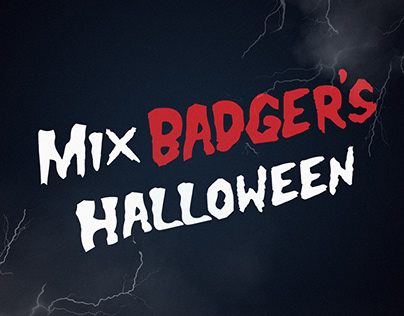 2018 Halloween Scream Filter017 Thriller Mix Badger