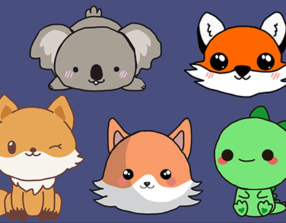Cute Animals (For Bēhance Olympics round 2)