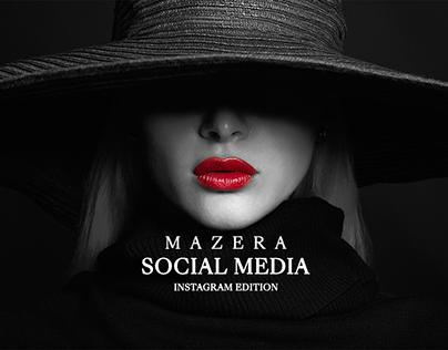 Mazera Social Media - Instagram Edition