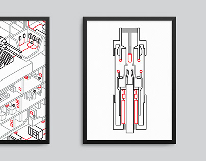 Illustrations for ABB's Brand Transformation project