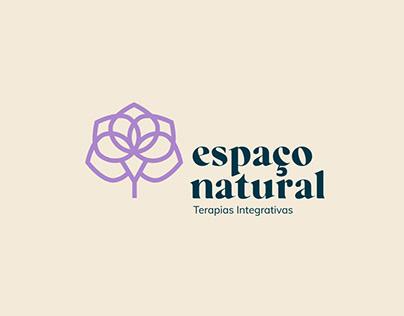 Logotipo Espaço Natural