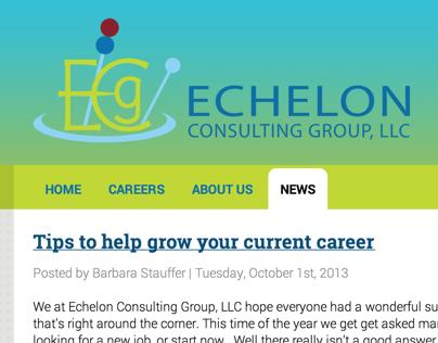 Echelon Consulting WordPress Theme