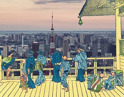 JAPAN and HOKUSAI-1