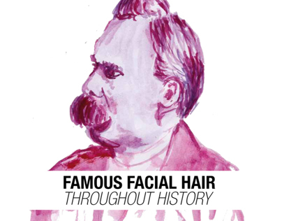 Famous facial hair