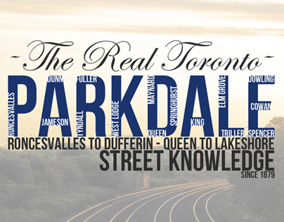 "The Real Toronto ""PARKDALE"""