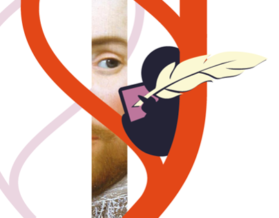 Shakespeare 2.0 pitch illustrations