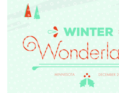 Christmas Card 2013: Winter Wonderland
