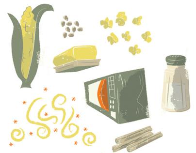 Popcorn Infographic Illustrations