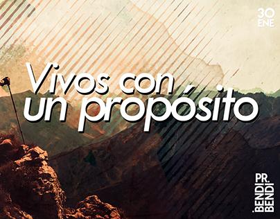 Vivos con un propósito - Pr. Luis Yegros