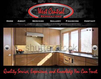 West Central Renovations website