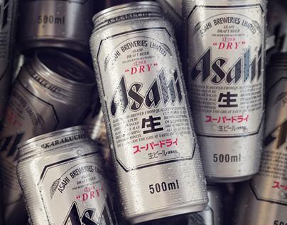 ASAHI SUPER DRY Beer
