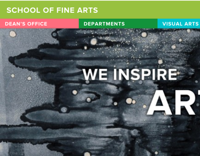 UConn School of Fine Arts Websites