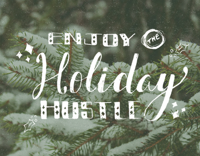 Holiday Lettering