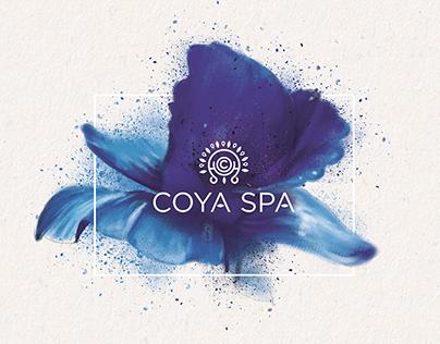 COYA Spa Brochure/Menu Design