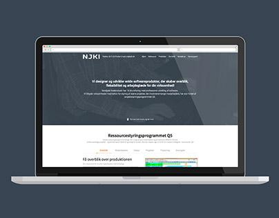 Redesign of njki.dk 2015