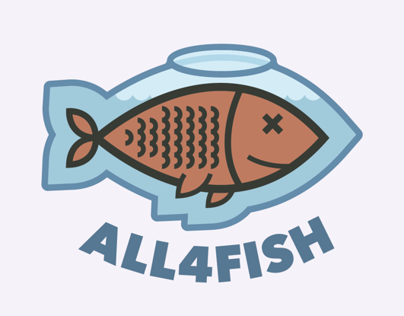 ALL4FISH Co. - Custom Aquariums LOGO