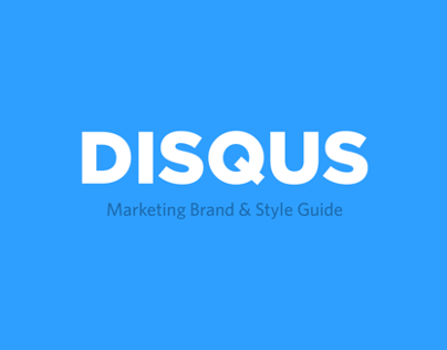 Disqus Brand & Style Guide