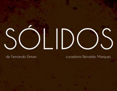 SÓLIDOS, Fernando Ekman exhibition
