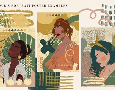 Boho Prints & Assets Collection